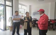 自治区党建融合发展调研组到协会检查指导工作