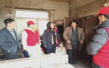 元宝山区马林小学调查核实贫困学生