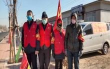 宁城办事处组织志愿者参与疫情防控