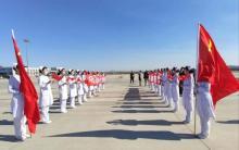 参与元宝山区迎接驰援武汉医疗队员归来志愿服务