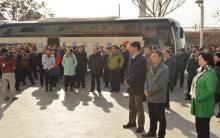 全市区各级领导到元宝山区平庄西城街道西柚社会组织联盟进行参观指导