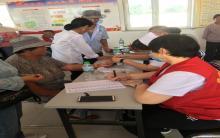 阿旗爱心家园志愿者协会开展义诊进乡村活动(二)