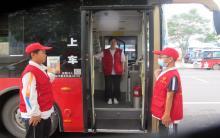"""2021年元宝山区""""我是文明交通引导员""""志愿服务第二天"""