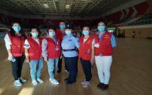阿旗爱心家园志愿者协会参与旗内疫苗接种工作(五)