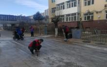 太阳神社区开展志愿服务