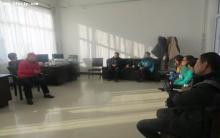 松山区志愿组织到协会参观学习